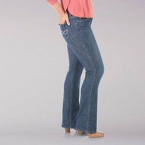 Lee Riders Midrise Bootcut Womens Jeans 16P